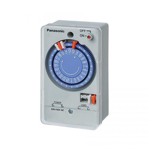 Cài đặt thời gian cho công tắc đồng hồ Panasonic